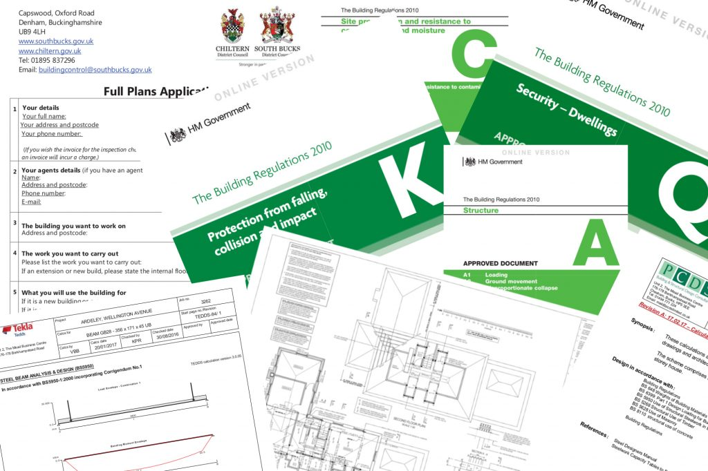 Building regulations applications for Construction rules and regulations